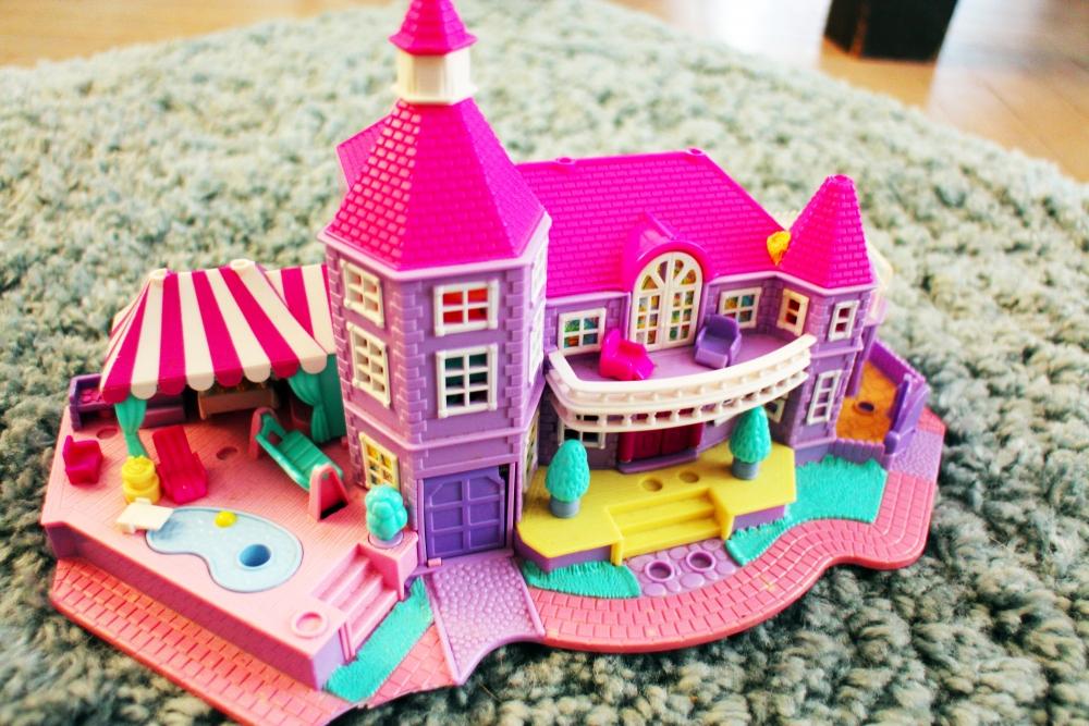 Maison polly pocket vintage luckyfind - Polly pocket jeux gratuit ...