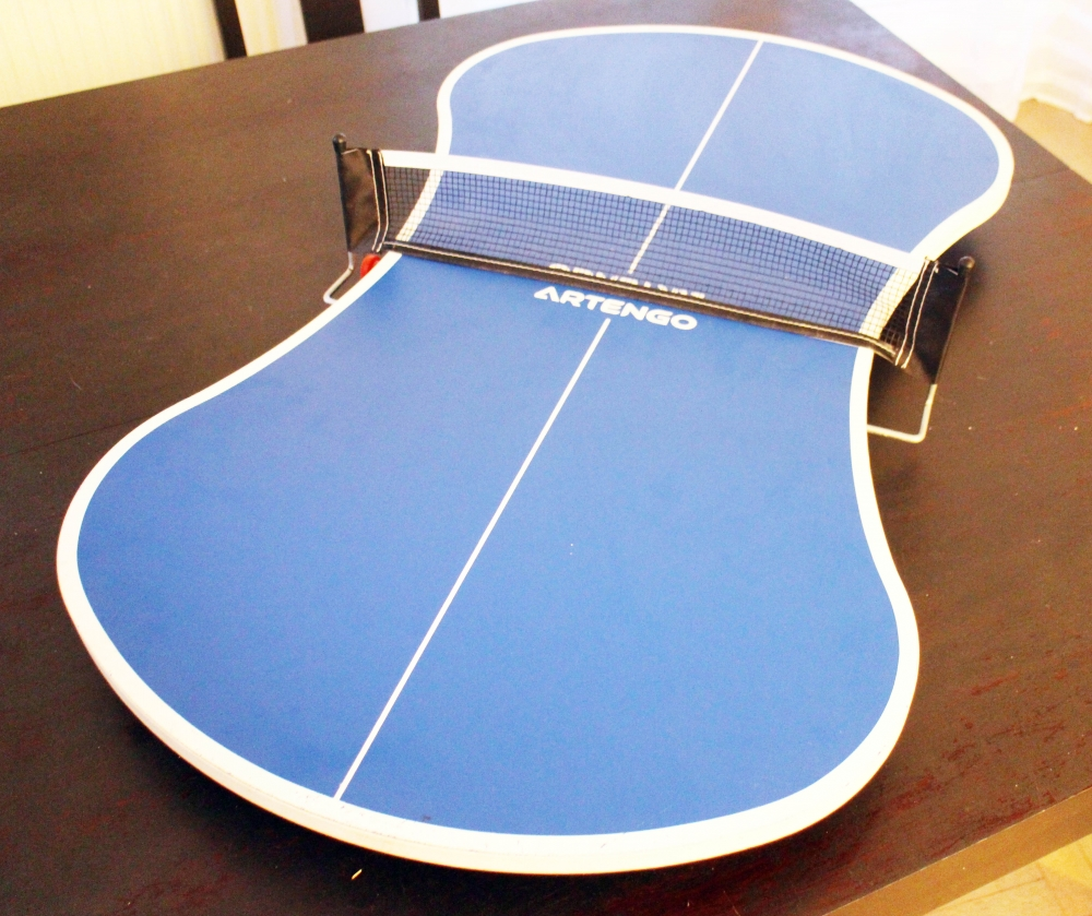 Mini table ping pong - Table de ping pong exterieur decathlon ...