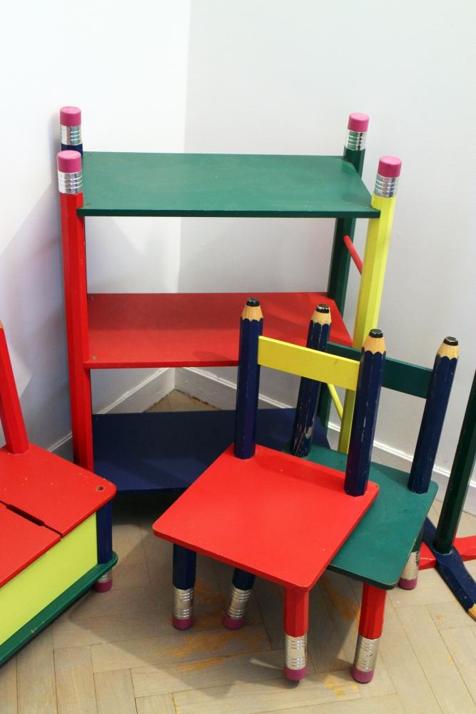 Ensemble de meubles original pour chambre d 39 enfant luckyfind - Meuble pour chambre d enfant ...