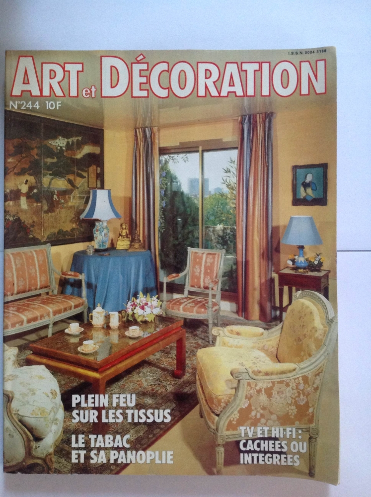 magazine de de collection art et d coration des ann es 1970 luckyfind. Black Bedroom Furniture Sets. Home Design Ideas