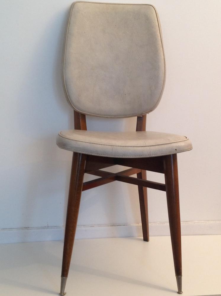 chaise de style scandinave vintage des annes 70 - Chaise Annee 70