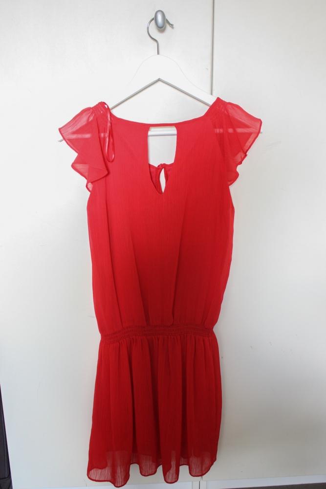 robe etam rouge luckyfind. Black Bedroom Furniture Sets. Home Design Ideas