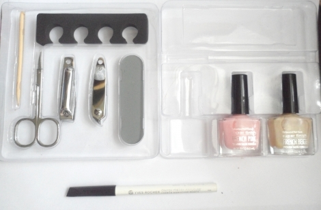 Malette Kit Nail Art French Manucure Luckyfind