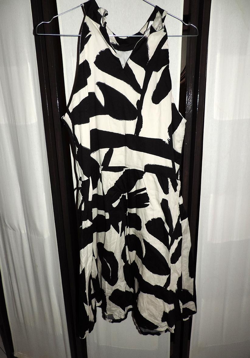 Robe motif blanc et noir promod taille 42 luckyfind - Motif noir et blanc ...