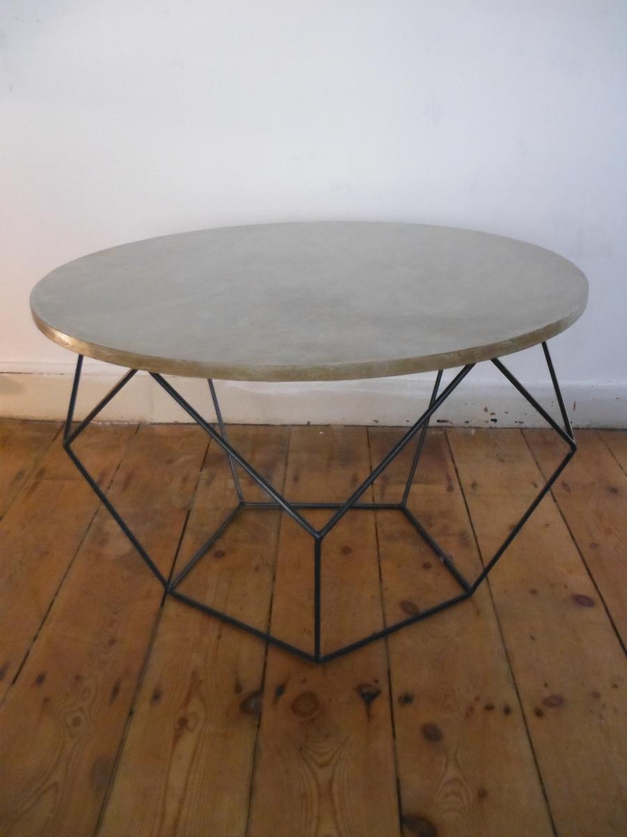 table basse hexagonale – Luckyfind