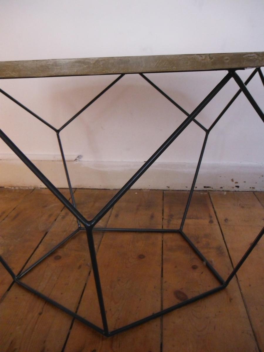 Table Basse Hexagonale Luckyfind