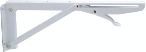 Console pliante acier 300 mm ekmatic jardinier massard for Console pliante pour tablette rabattable
