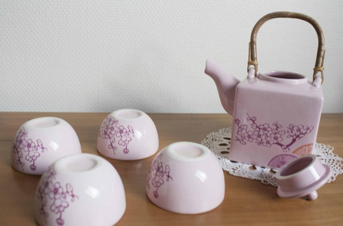 Service à thé rose Maison du monde – Luckyfind