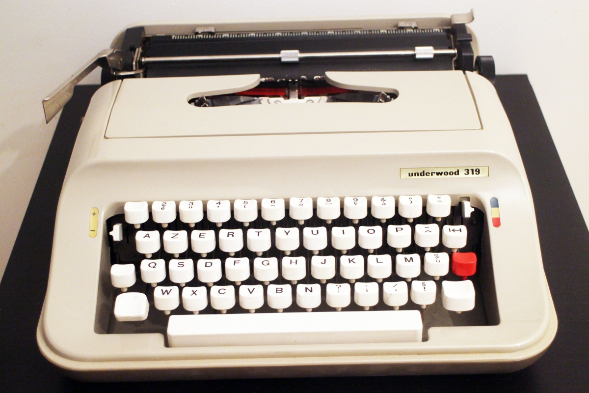 Machine crire vintage underwood luckyfind - Machine a ecrire underwood ...
