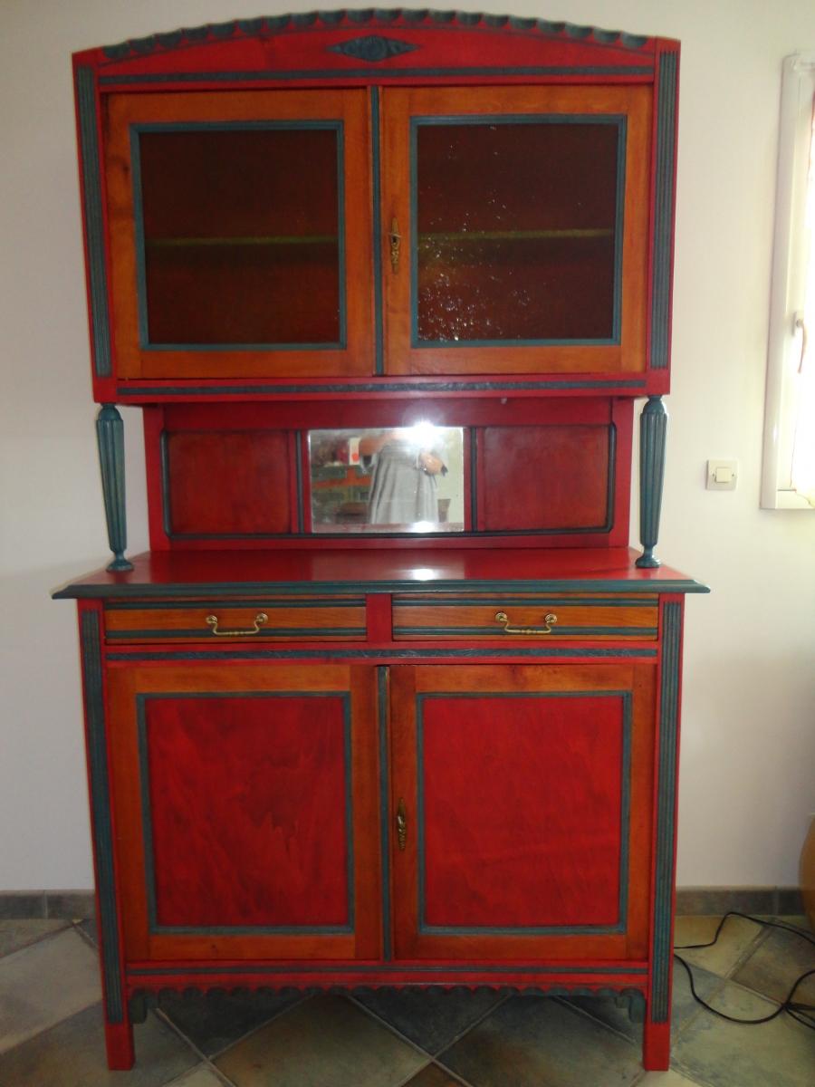 buffet ann e 60 luckyfind. Black Bedroom Furniture Sets. Home Design Ideas