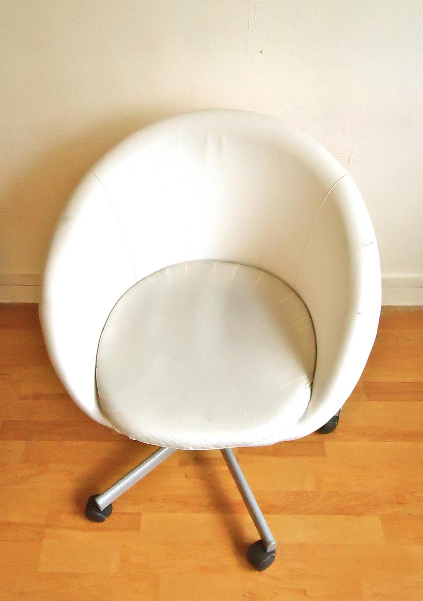 fauteuil de bureau ika modle skruvta - Fauteuil Rond Ikea