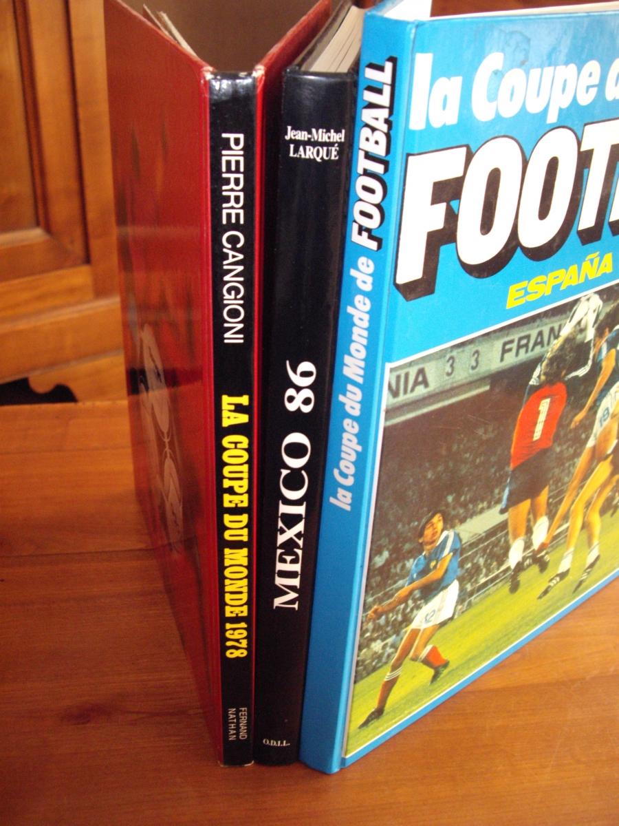Coupe du monde football 1978 1982 1986 luckyfind - Coupe du monde france allemagne 1982 ...