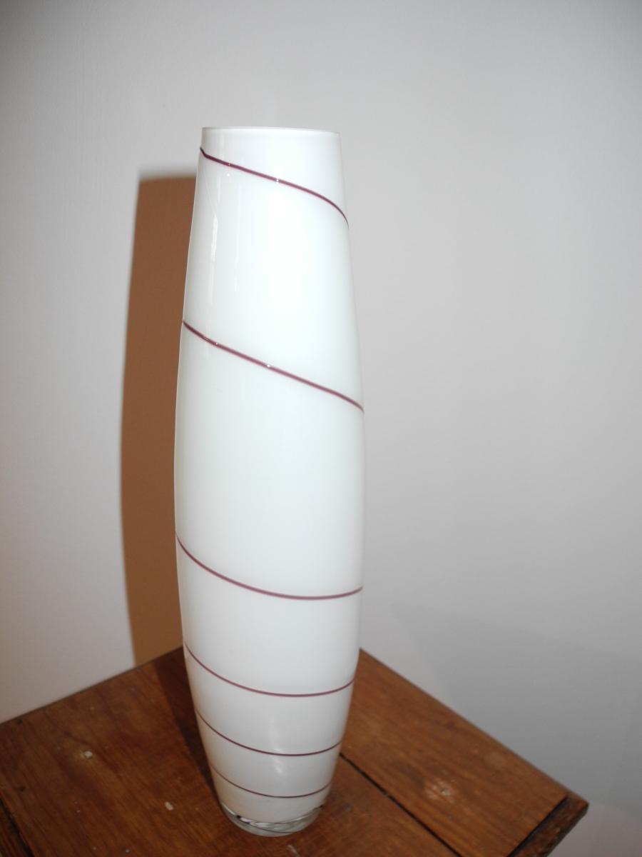 vase en verre design de cr ateur luckyfind. Black Bedroom Furniture Sets. Home Design Ideas