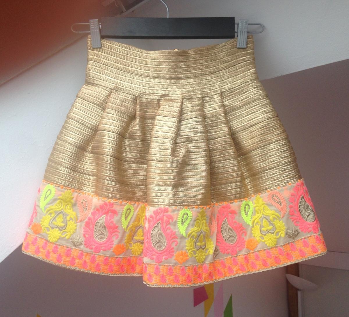 Mini jupe taille 10