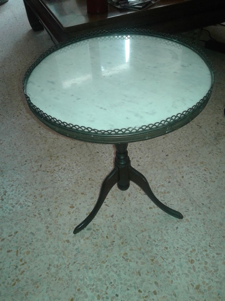 Table ronde pied central luckyfind - Table ronde moderne pied central ...