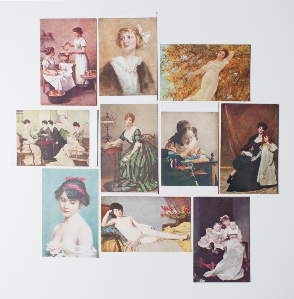 lot de cartes postales de collection - Luckyfind