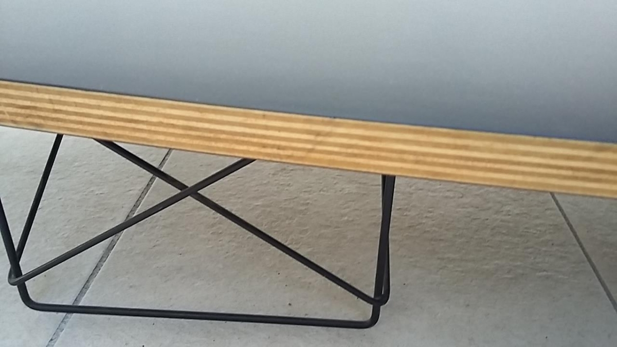 Table Basse Style Elliptical Table Etr Charles Ray Eames 1951