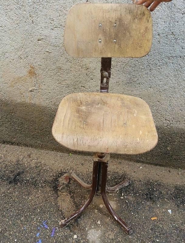 Chaise Signée Chaise Indus Bad Bad Indus Signée tCxQrhsd
