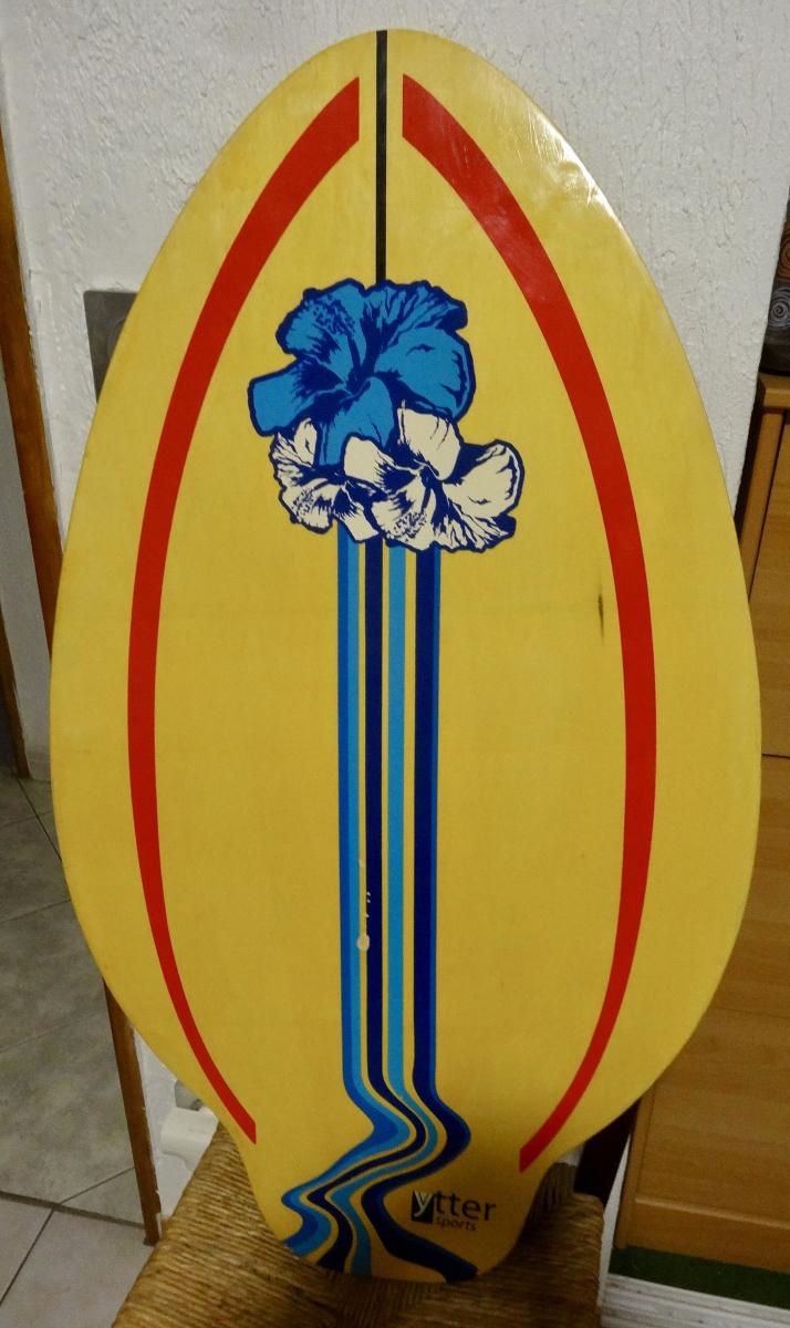 planche surf vintage pour deco luckyfind. Black Bedroom Furniture Sets. Home Design Ideas