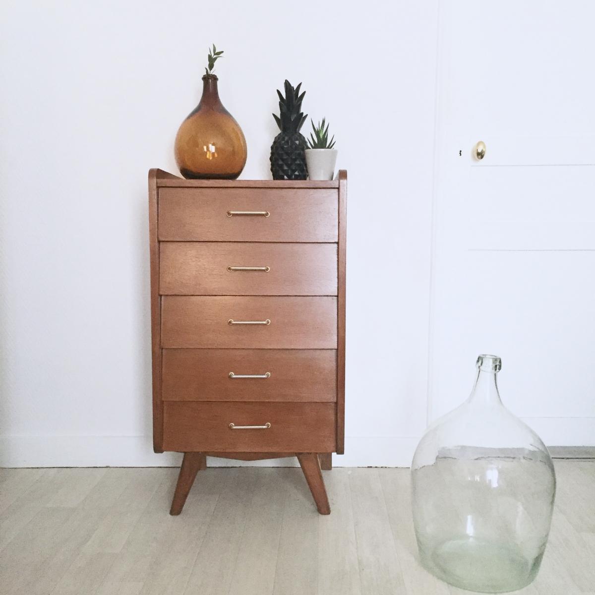 chiffonnier commode vintage luckyfind. Black Bedroom Furniture Sets. Home Design Ideas