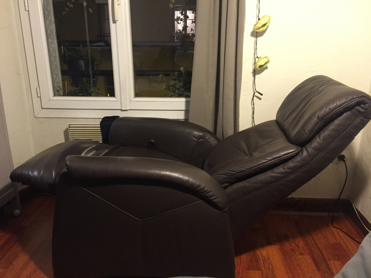 Fauteuil Himolla Relax Inclinable Cuir