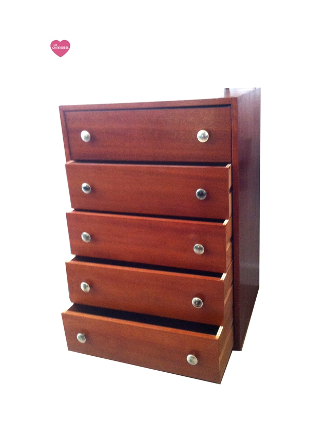 commode ann es 70 bois teint luckyfind. Black Bedroom Furniture Sets. Home Design Ideas