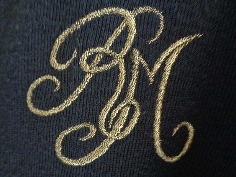 ... Long Gilet Authentique Marin Breton Vintage boutons marins et blason T38  ... e52102456edb