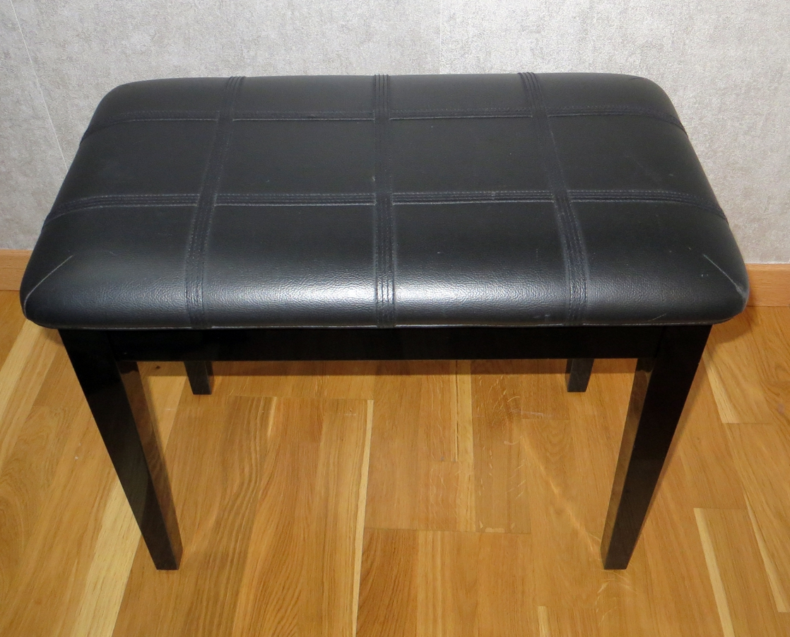 banquette pour piano non r glable luckyfind. Black Bedroom Furniture Sets. Home Design Ideas