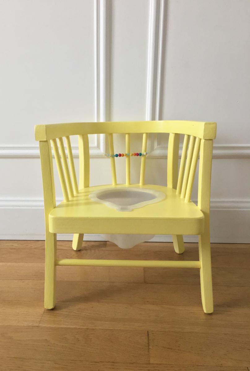 chaise pot baumann luckyfind. Black Bedroom Furniture Sets. Home Design Ideas