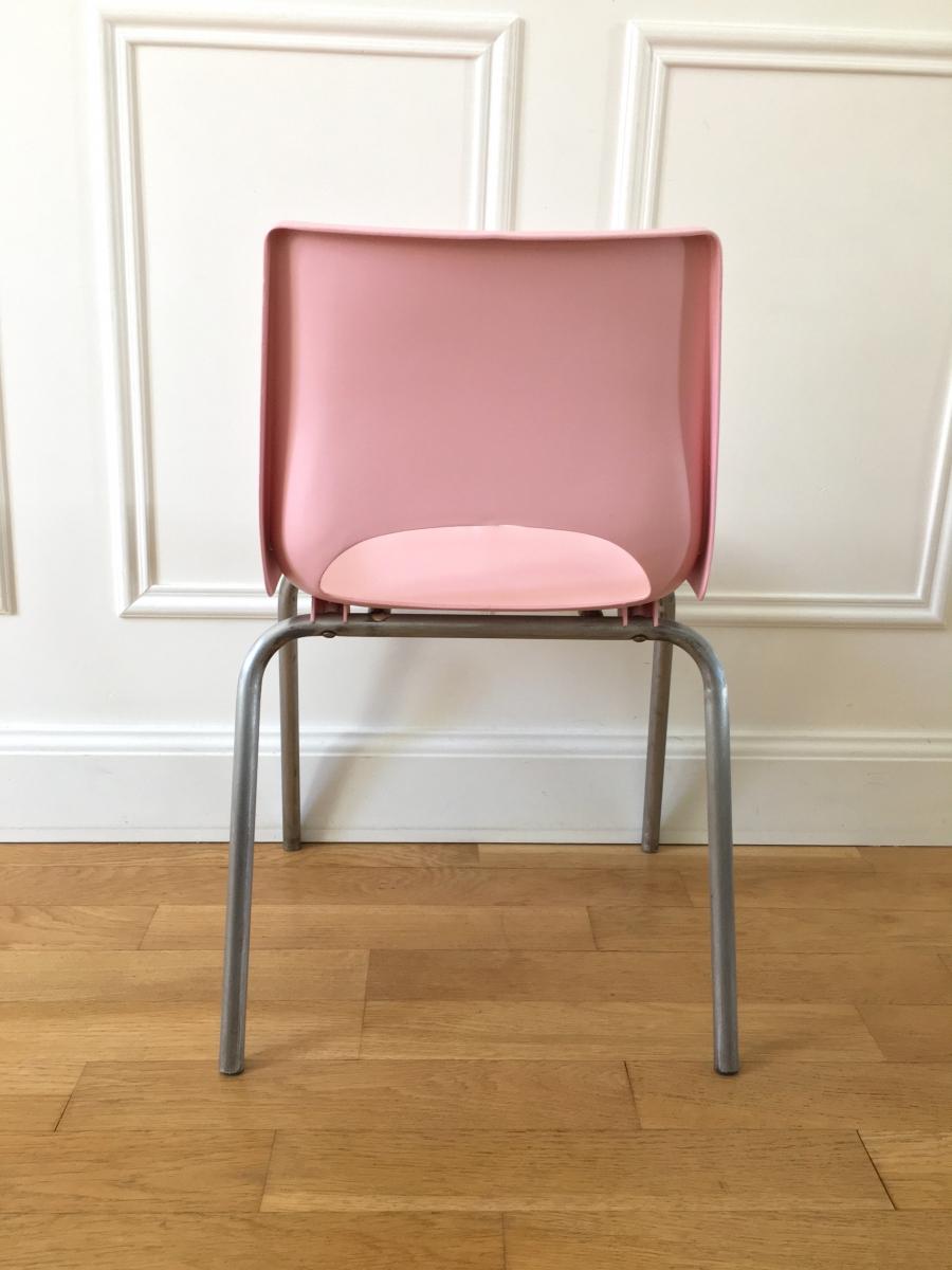 Petite chaise d 39 colier ann es 70 luckyfind for Chaise annee 70