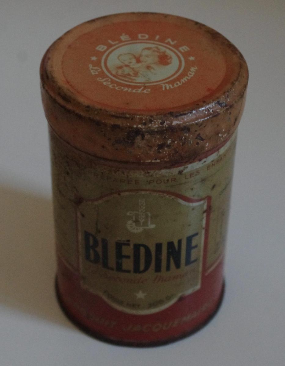 Boite m tal ancienne bl dine luckyfind - Boite metal ancienne ...