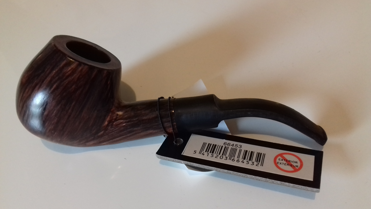 Pipe de d coration en r sine brun luckyfind for Pipe a fumer cuisine