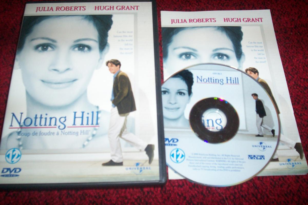 Dvd coup de foudre nottting hill avec julia roberts - Julia roberts coup de foudre a notting hill ...