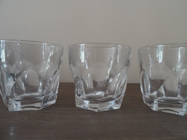 3 verres whisky en cristal luckyfind. Black Bedroom Furniture Sets. Home Design Ideas