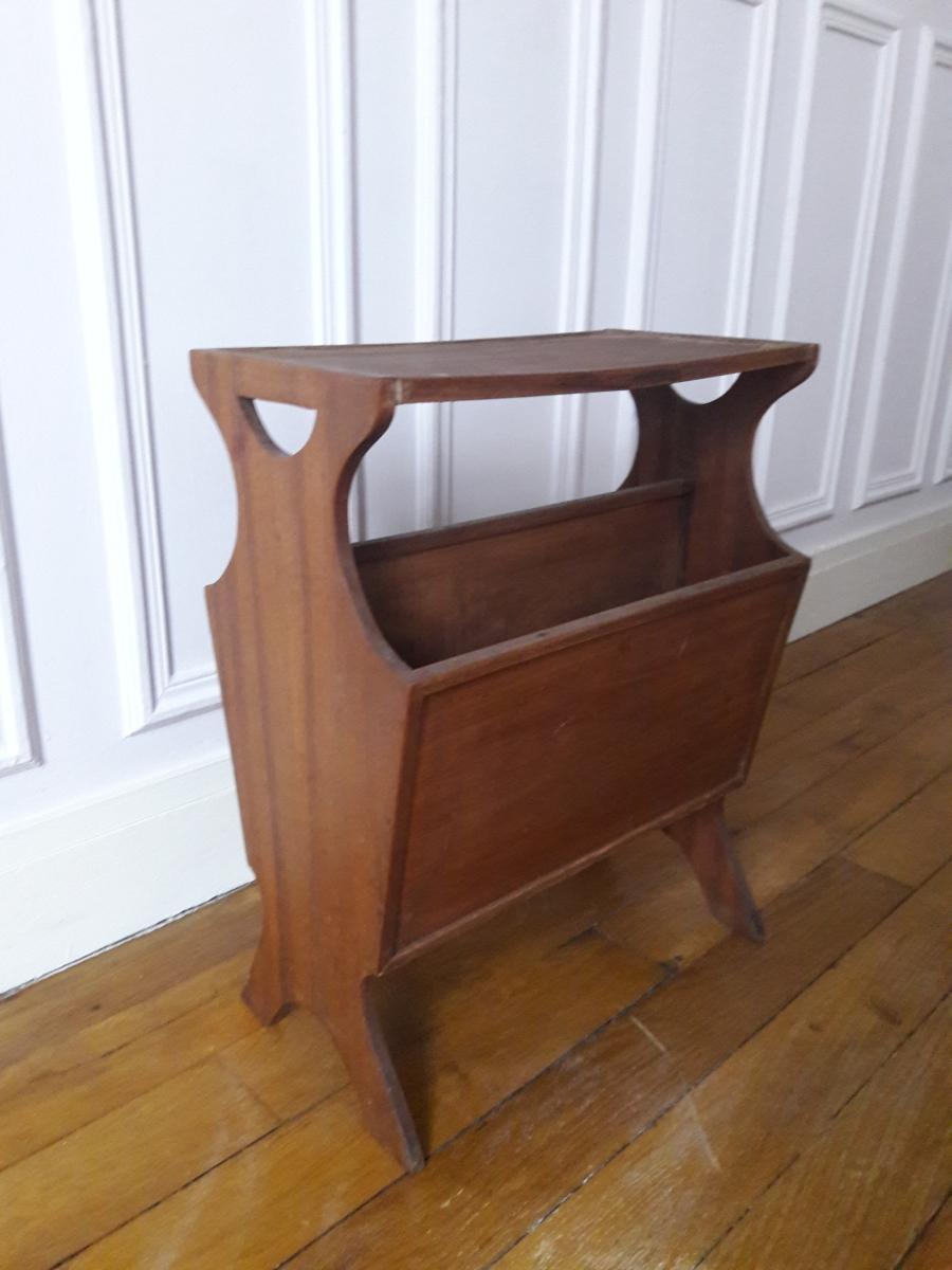 Porte revue en bois luckyfind for Porte revue en bois
