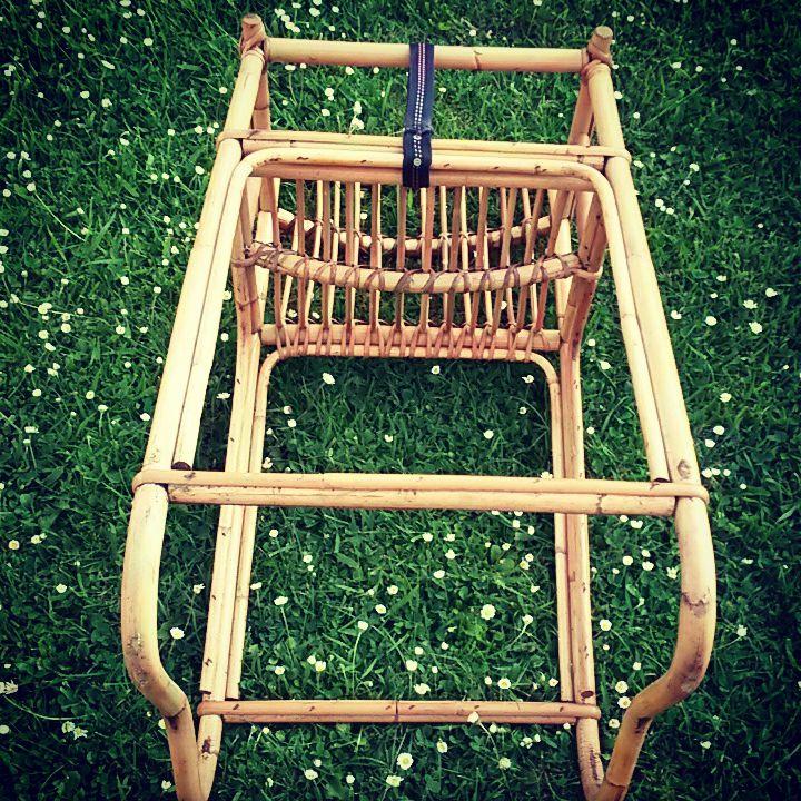 Chaise haute pour b b en rotin luckyfind for Chaise en rotin enfant