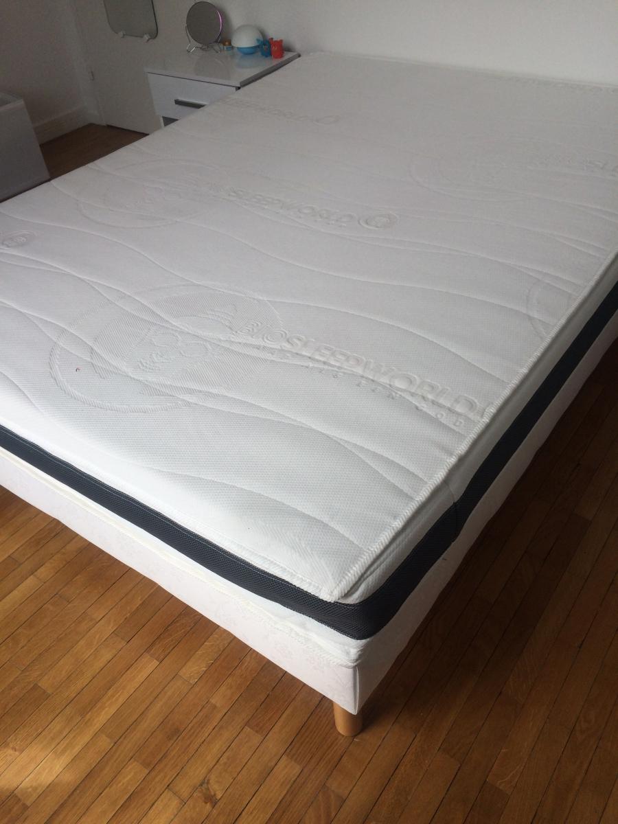 matelas chamonix m moire de forme et sommier luckyfind. Black Bedroom Furniture Sets. Home Design Ideas