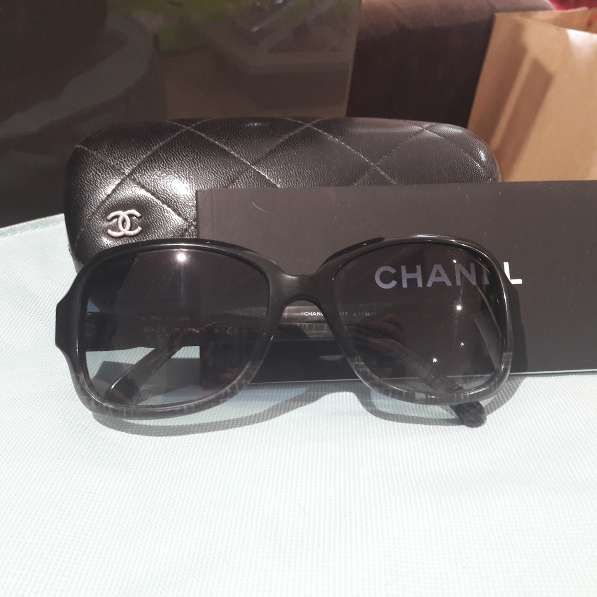 Lunettes solaire Chanel – Luckyfind 3ae6905456c0