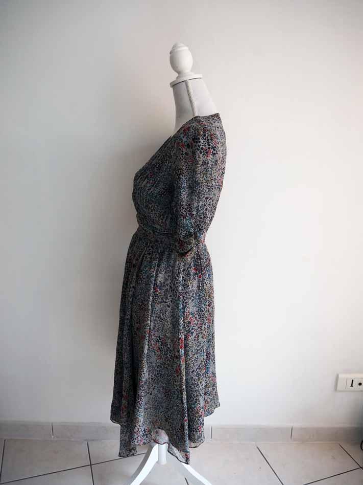 Portefeuille – 100 Luckyfind Liberty Robe Motif Soie Rwa8qRxn