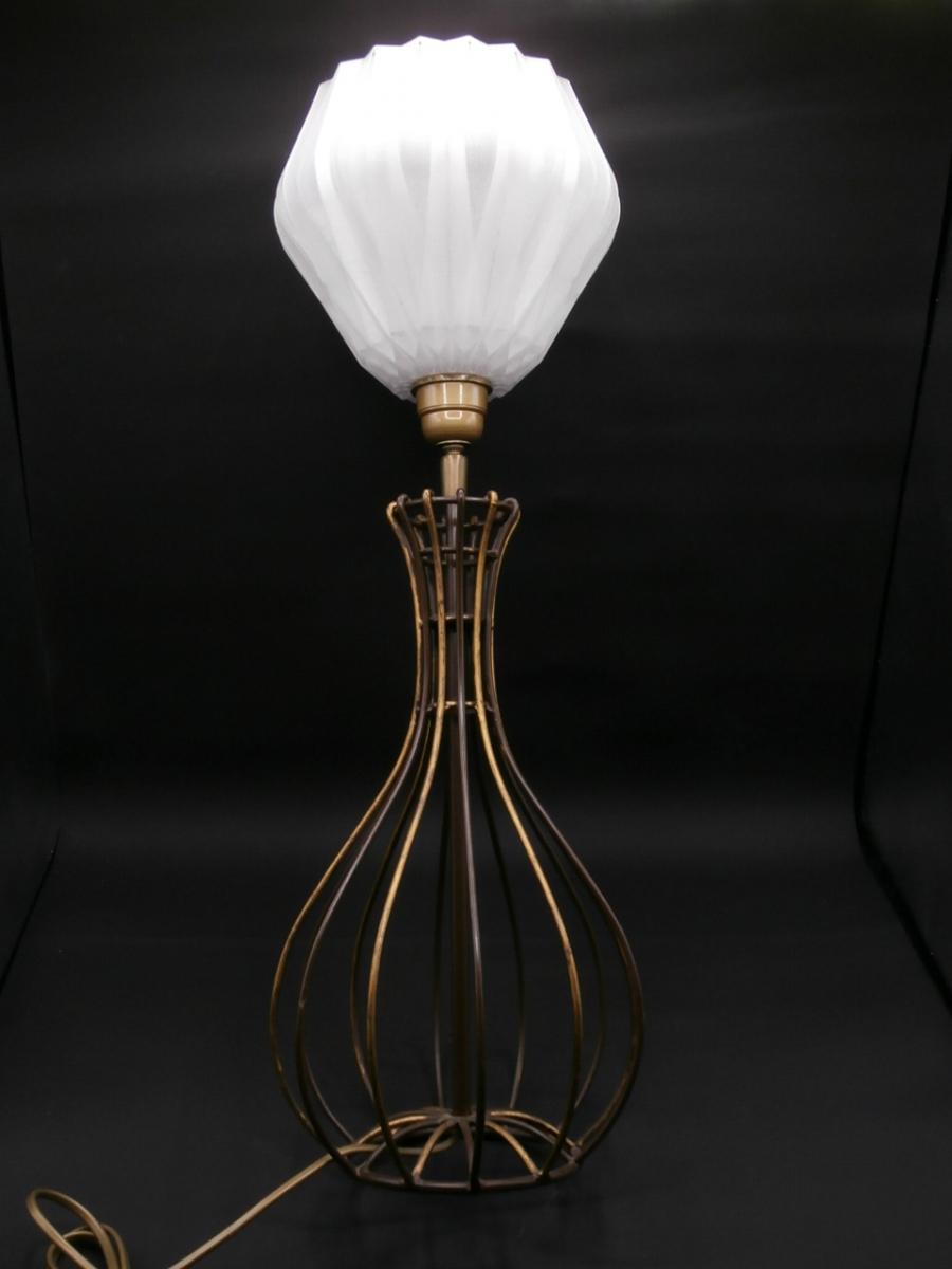 Grande lampe luckyfind for Grande lampe sur pied