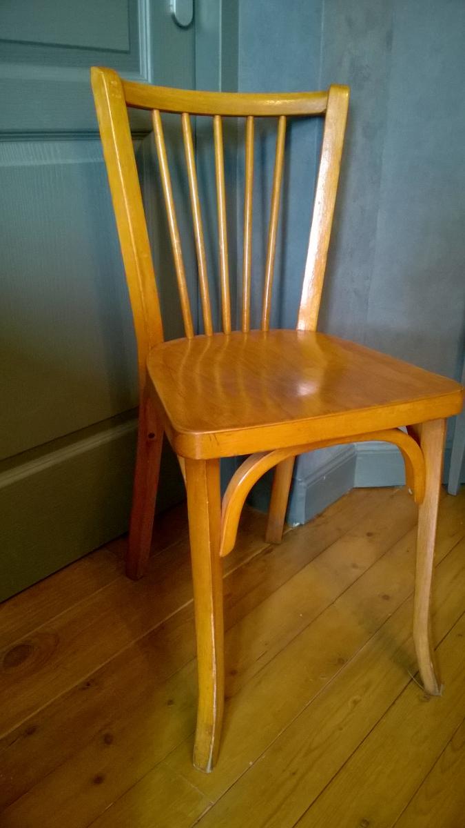 1 chaise style bistrot baumann luckyfind. Black Bedroom Furniture Sets. Home Design Ideas