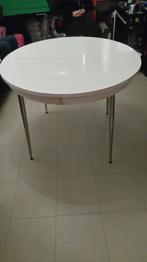 Table Formica Version Ronde Ou Ovale
