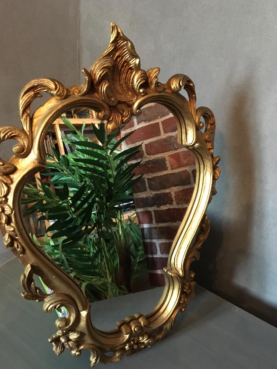 miroir baroque dor luckyfind. Black Bedroom Furniture Sets. Home Design Ideas