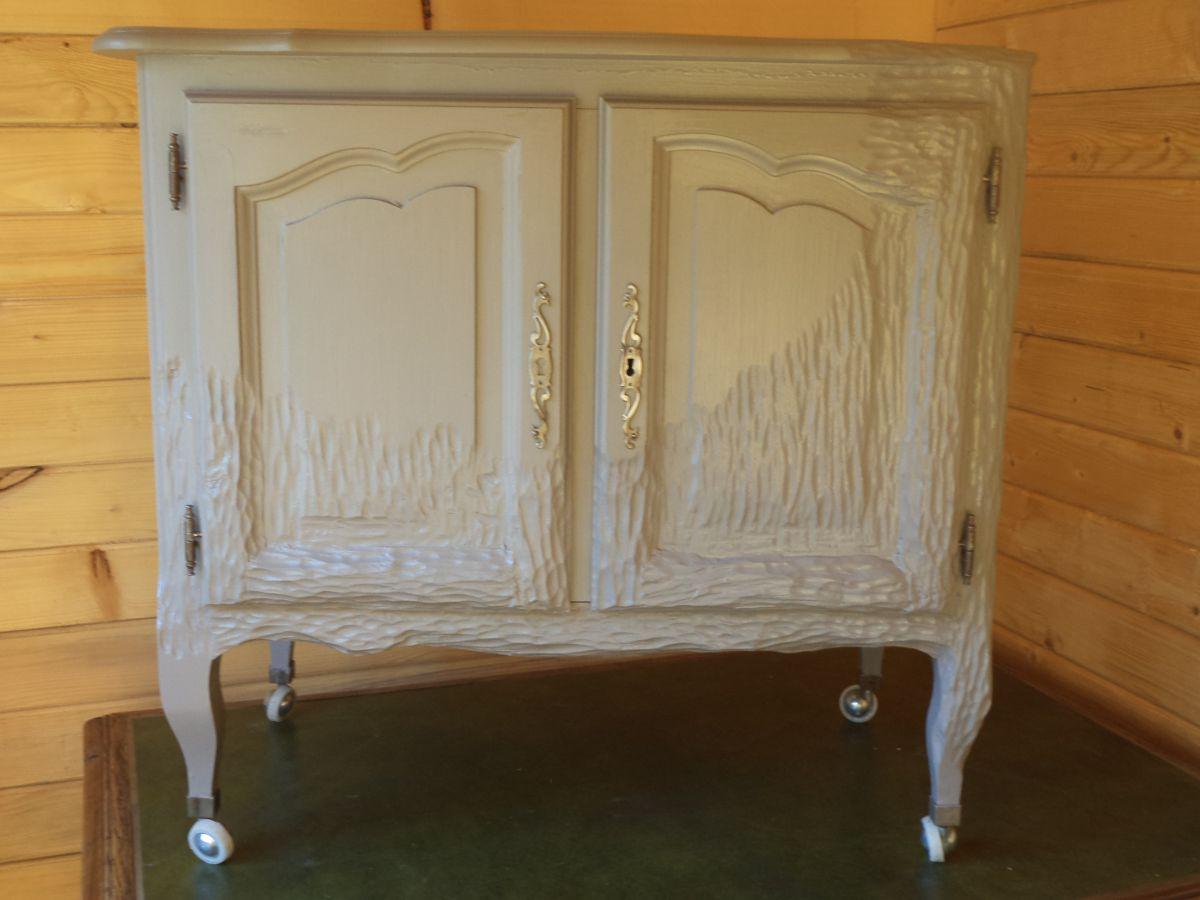 meuble bar tele relook couleur taupe style design luckyfind. Black Bedroom Furniture Sets. Home Design Ideas