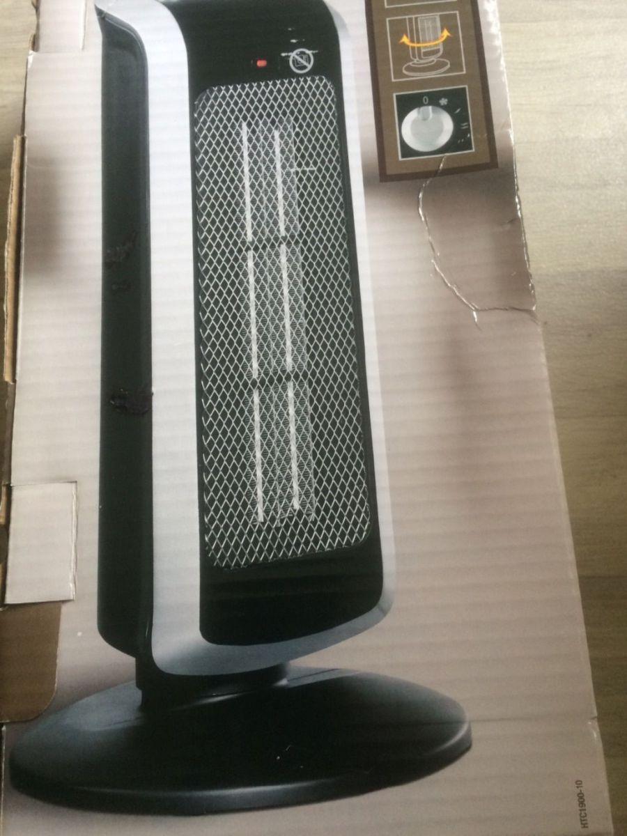 ventilateur et chauffage colonne sur pied neuf luckyfind. Black Bedroom Furniture Sets. Home Design Ideas