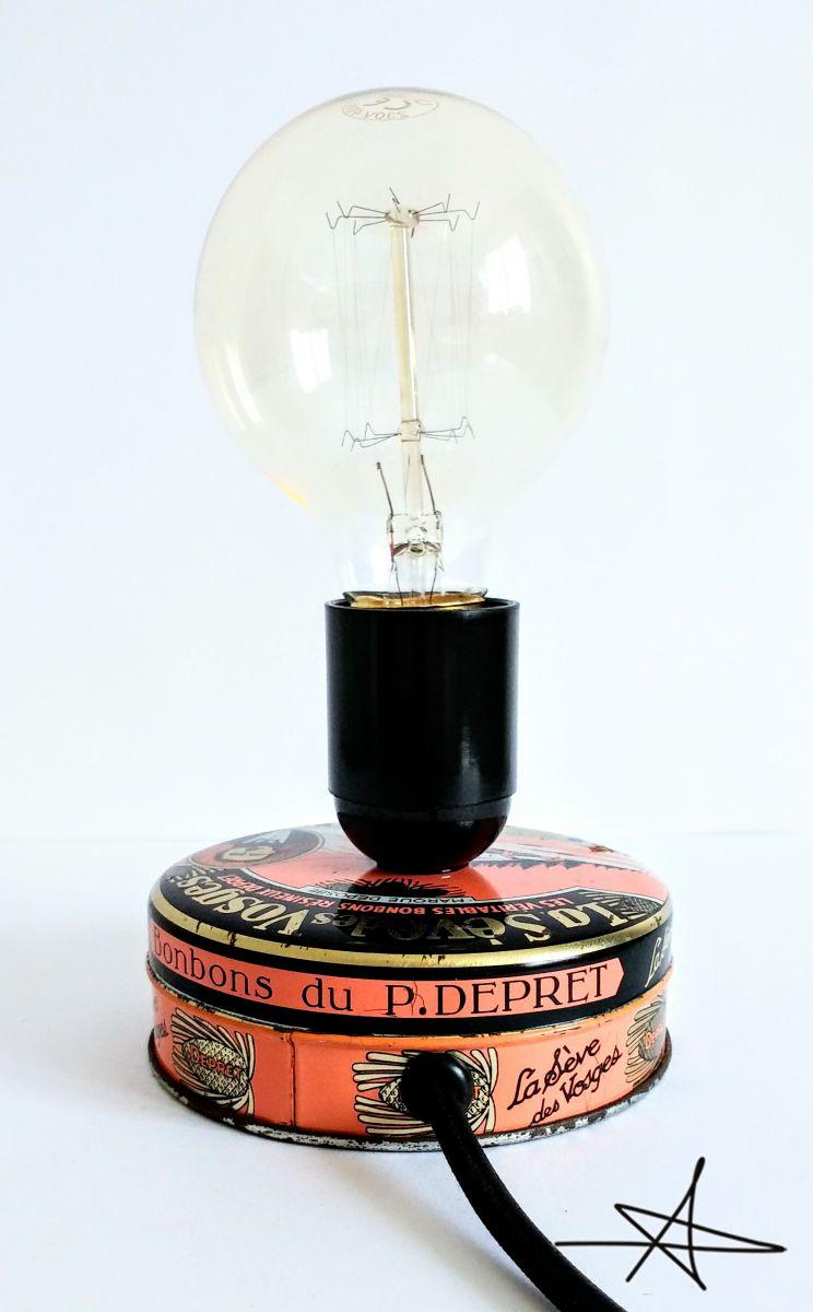 lampe poser vintage l 39 air des vosges luckyfind. Black Bedroom Furniture Sets. Home Design Ideas