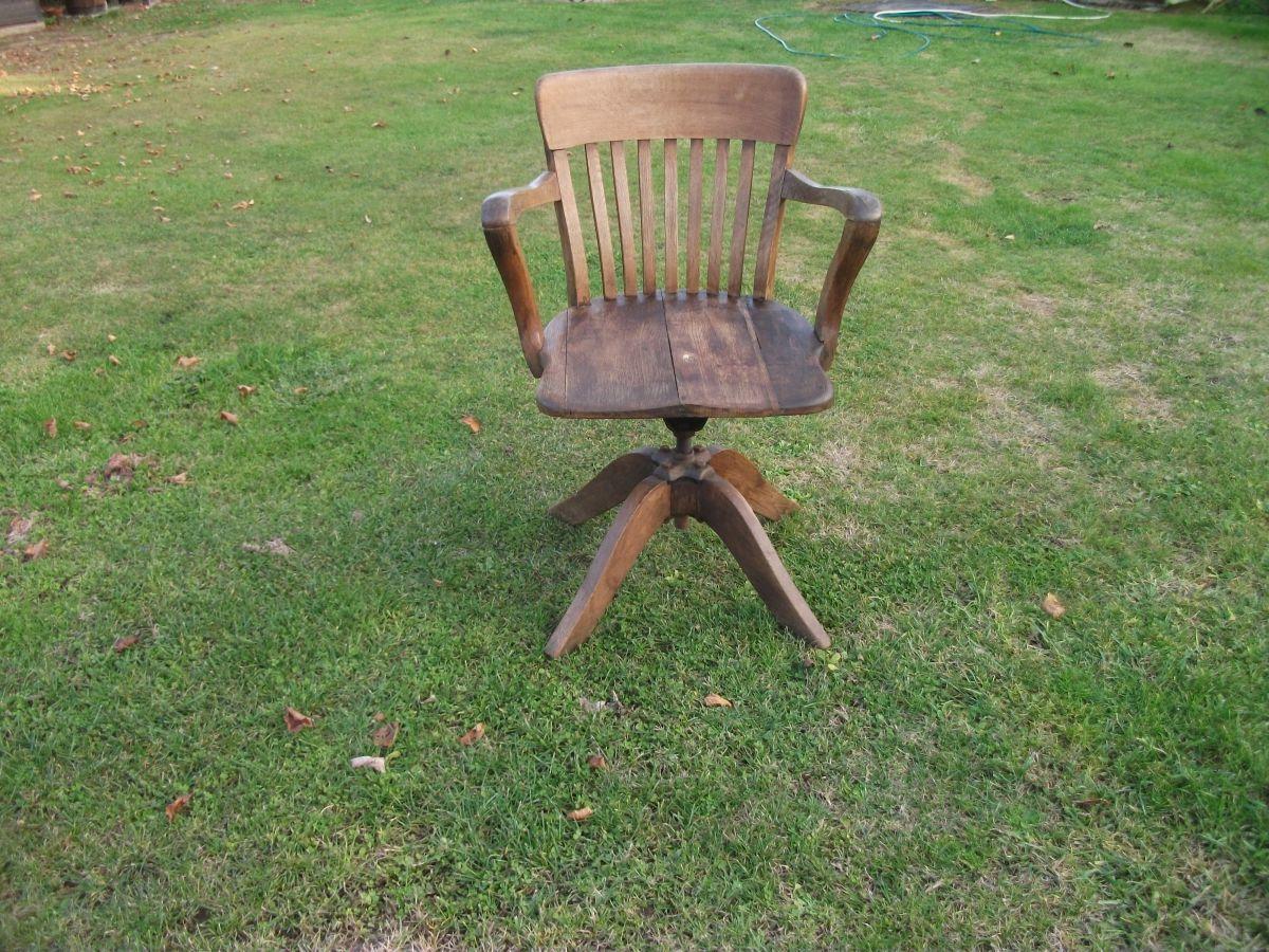 fauteuil de bureau de type am ricain ann e 1930 luckyfind. Black Bedroom Furniture Sets. Home Design Ideas