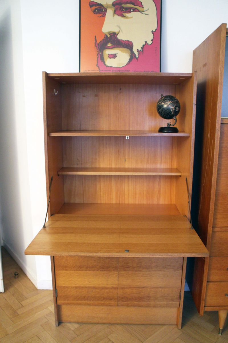 secr taire bureau vintage style scandinave ann es 50 luckyfind. Black Bedroom Furniture Sets. Home Design Ideas