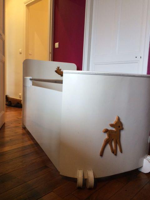 lit enfant b b vintage luckyfind. Black Bedroom Furniture Sets. Home Design Ideas