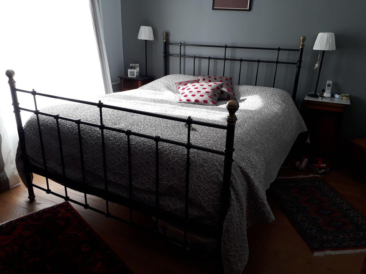 tete et pieds de lit luckyfind. Black Bedroom Furniture Sets. Home Design Ideas